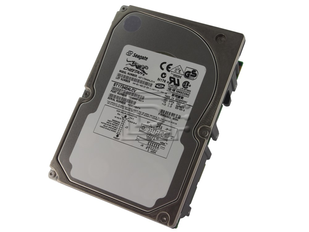 Seagate ST173404LCV 9N8009-021 SCSI Hard Drives image 1