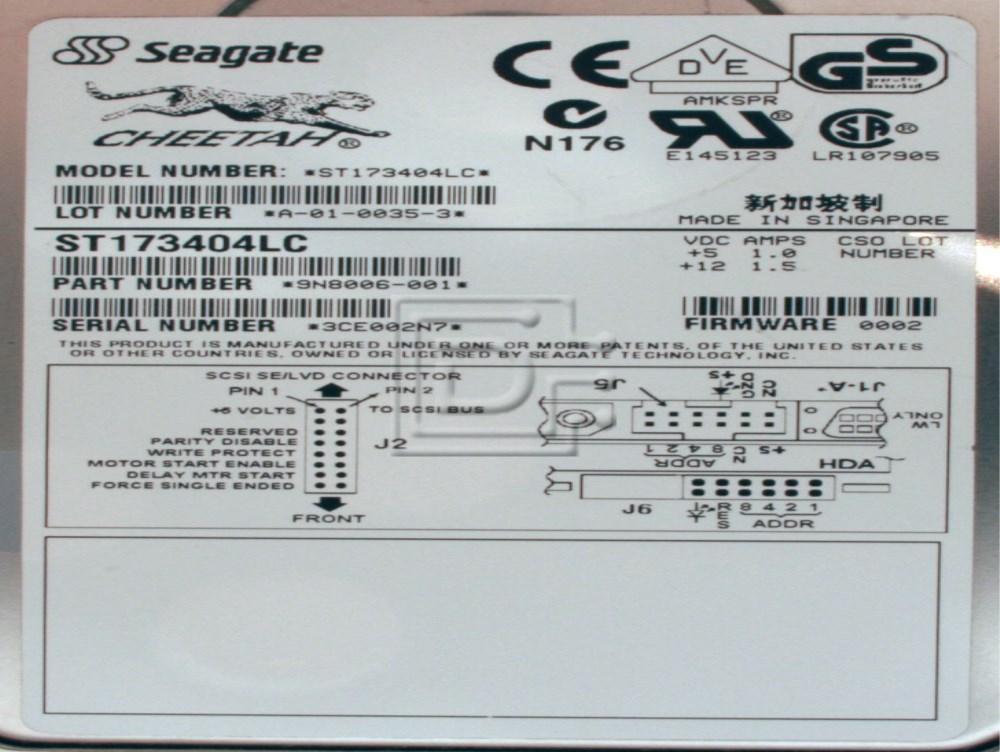 Seagate ST173404LC SCSI Hard Drive image 2