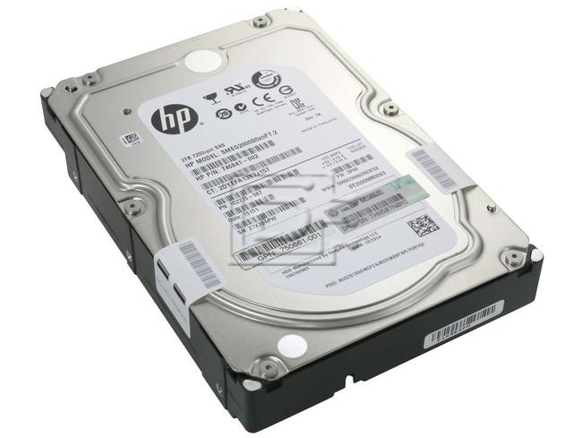 Seagate ST2000NM0063 746841-002 1C2275-087 SMEG2000S5xnF7.2 ST2000NM0023-63SED ST2000NM0043-63SED SAS Hard Drive image 1
