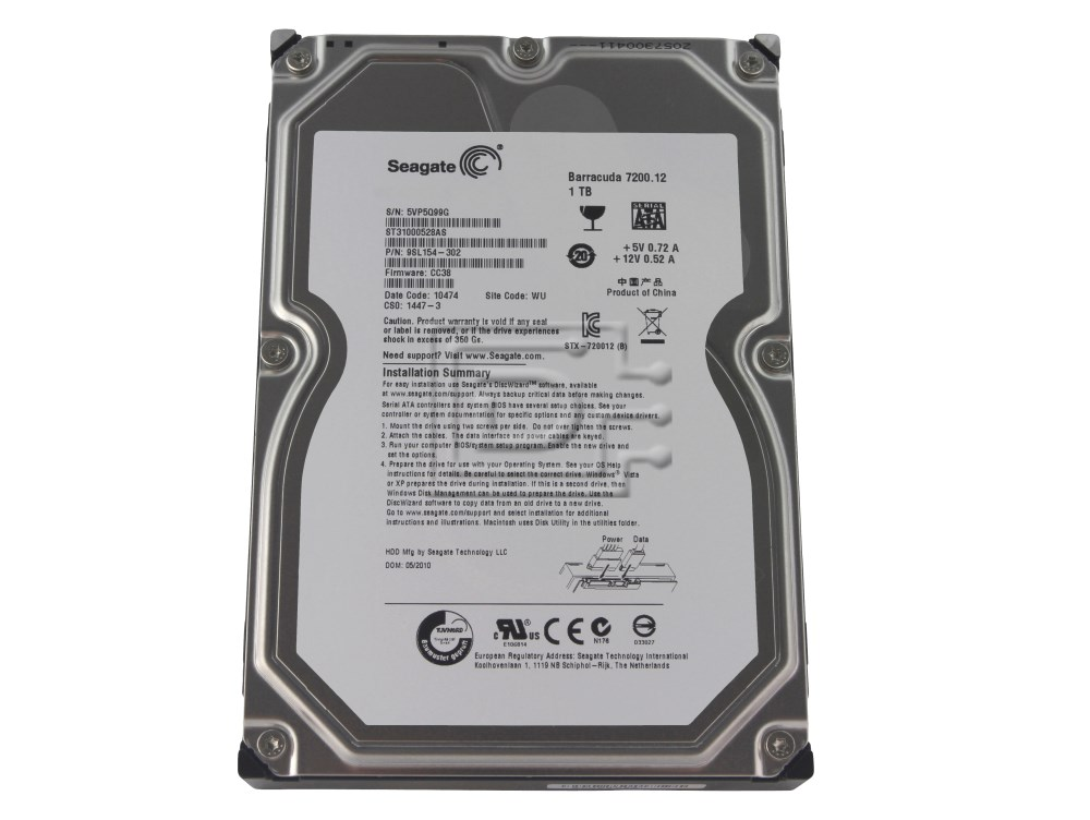Seagate ST31000528AS SATA Hard Drive image 1