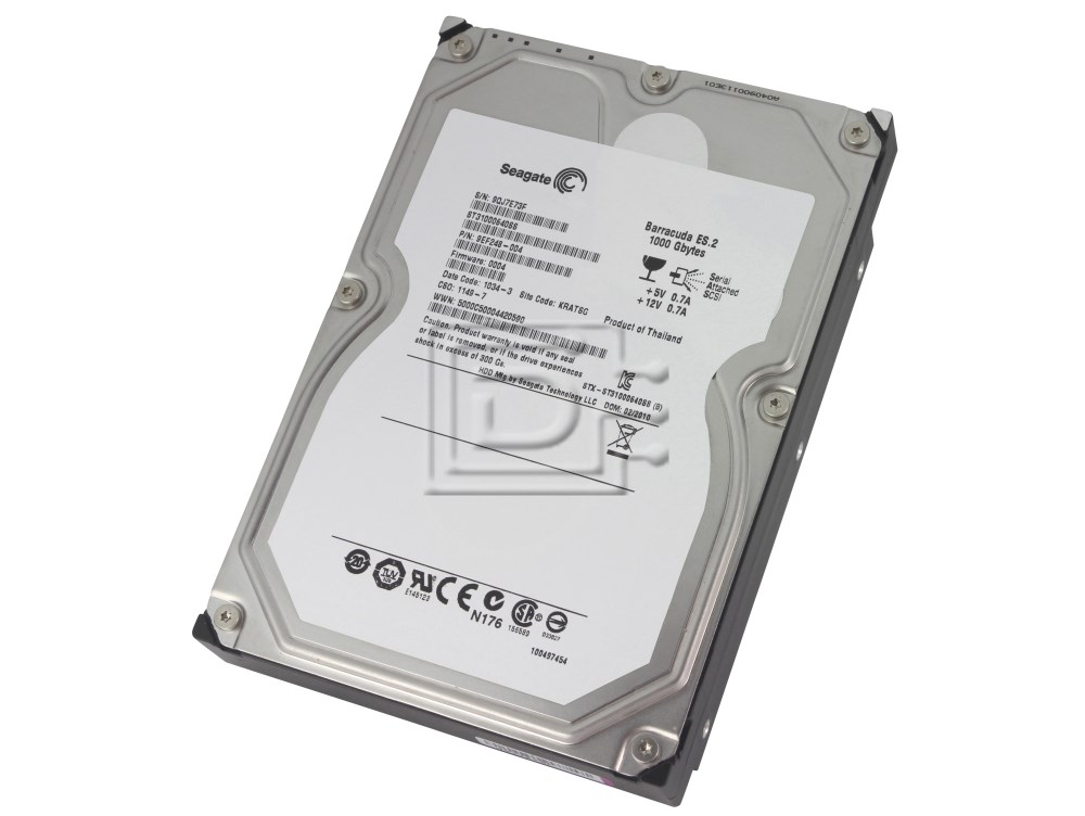 Seagate ST31000640SS SAS Hard Drive image 1