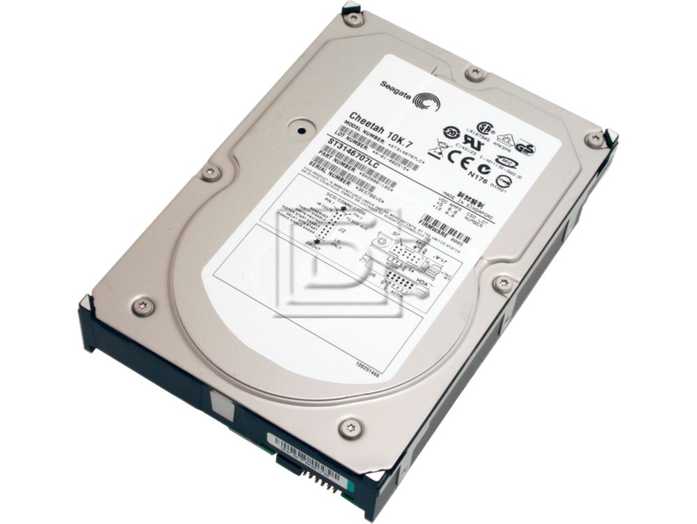 Seagate ST3146707LC Y4628 0Y4628 GC828 0GC828 Cheetah 10K.7 SCSI Hard Drive image 1