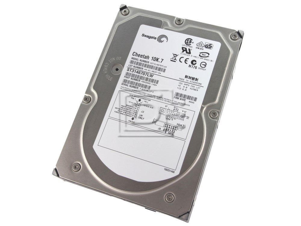 Seagate ST3146707LW 9X2005-002 SCSI Hard Drives image 1