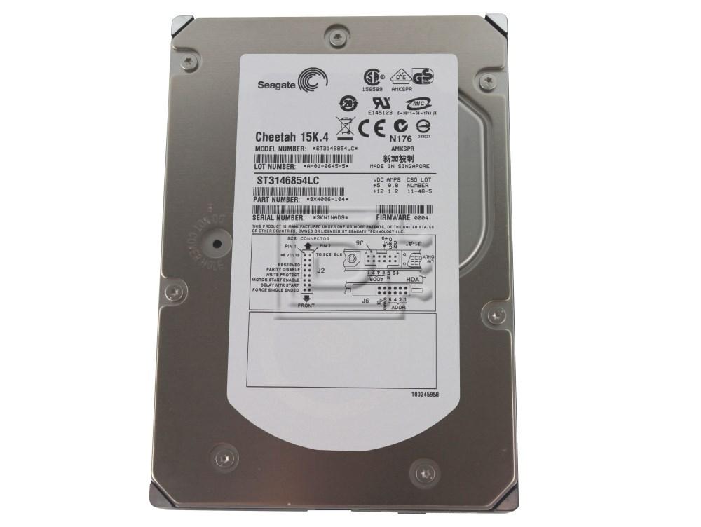 Seagate ST3146854LC SCSI Hard Drive image 1