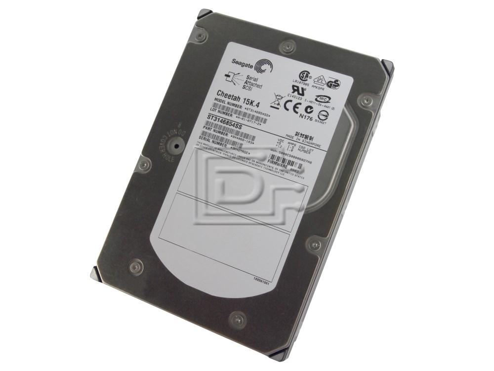 Seagate ST3146854SS 9X4066 SAS Hard Drives image 1