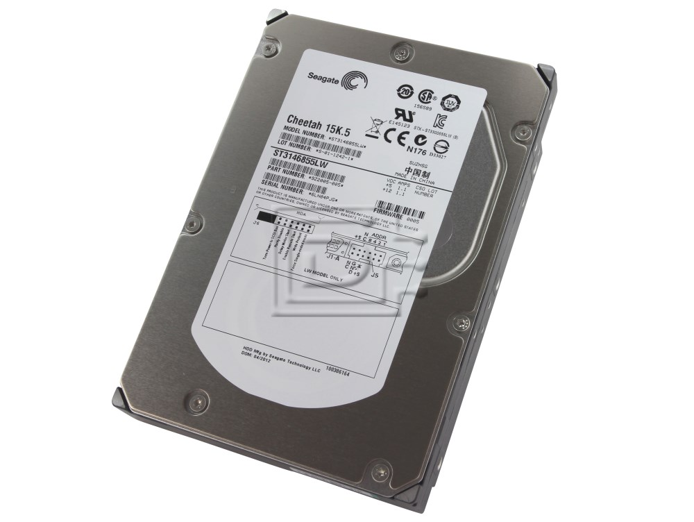 Seagate ST3146855LW 9Z2005-005 SCSI Hard Drive image 1