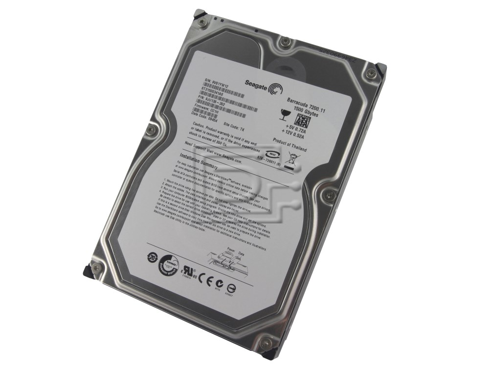Seagate ST31500341AS SATA Hard Drive image 1