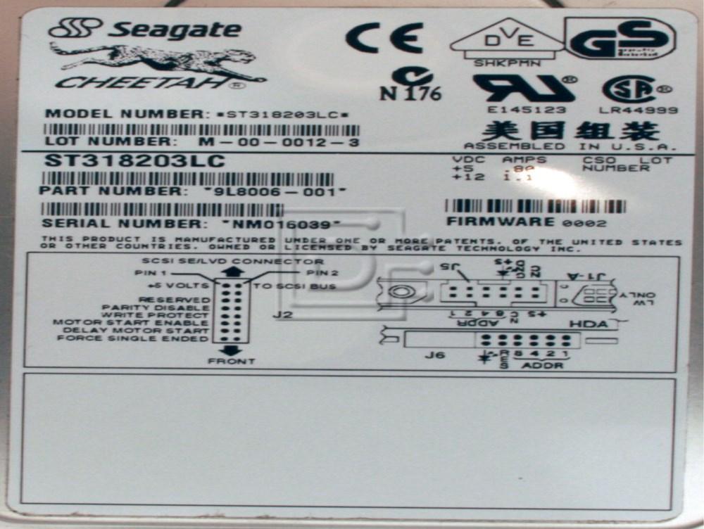 Seagate ST318203LC SCSI Hard Drive image 2