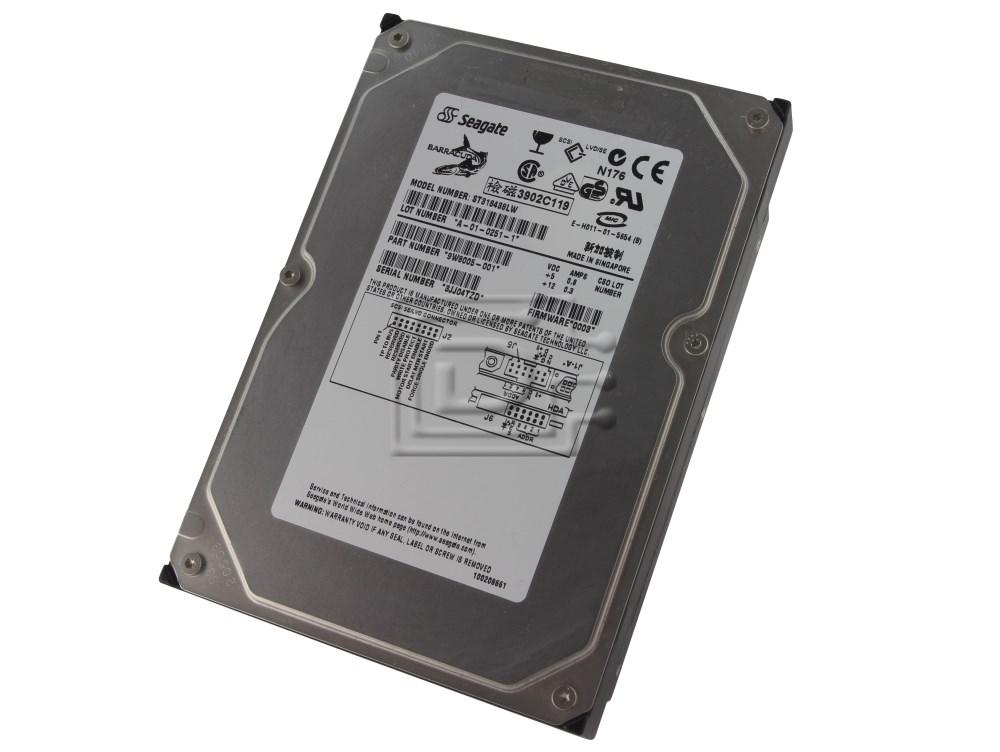 Seagate ST318438LW 9W8005-001 SCSI Hard Drive image 1