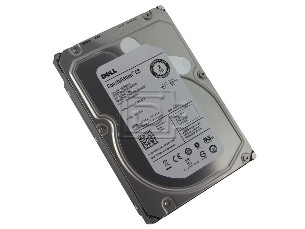 Seagate ST32000444SS 0R755K R755K 9JX248-150 SAS Hard Drive 2TB Seagate 6.0Gbps image 1
