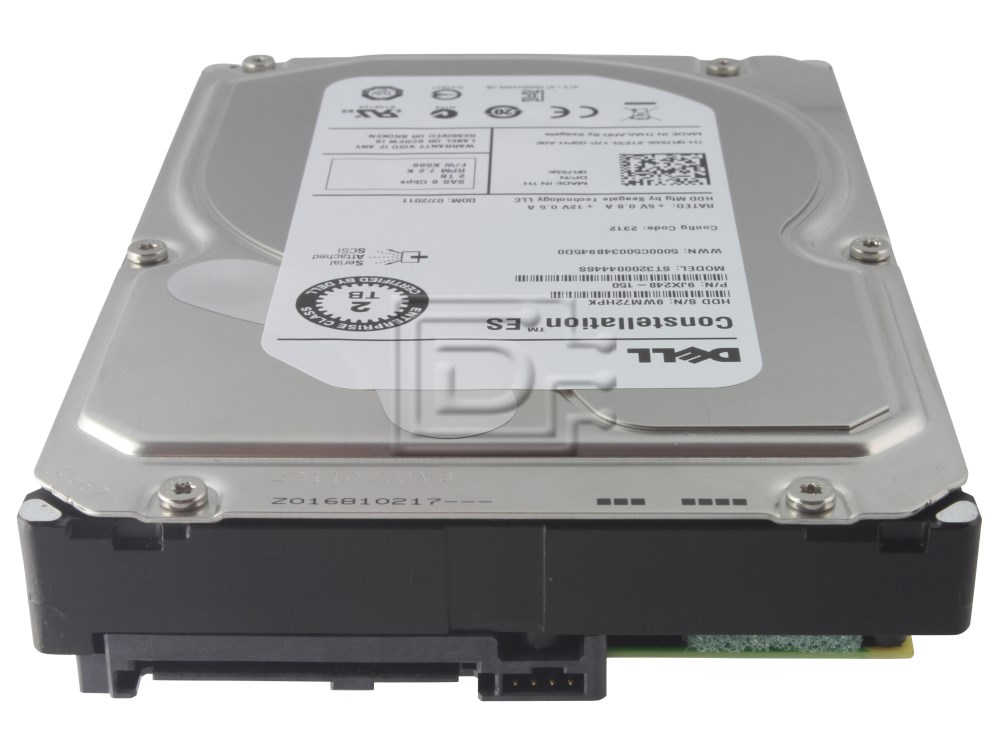 Seagate ST32000444SS 0R755K R755K 9JX248-150 SAS Hard Drive 2TB Seagate 6.0Gbps image 4