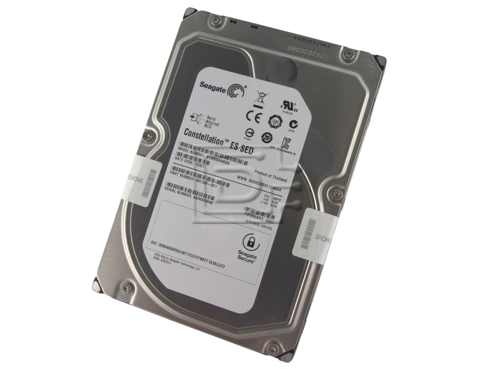 Seagate ST32000445SS 9ST248-001 SED Secure Encryption SAS Hard Drive image 1