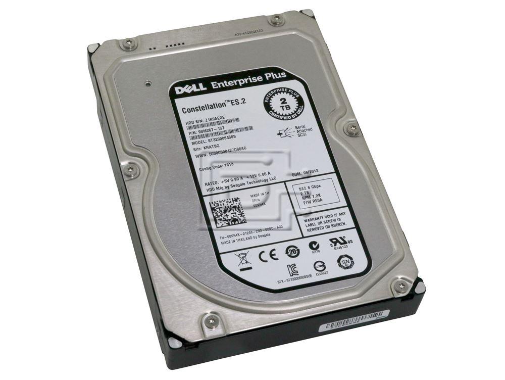 Dell VYRKH 2-TB 6G 7.2K 3.5 SAS w//F238F