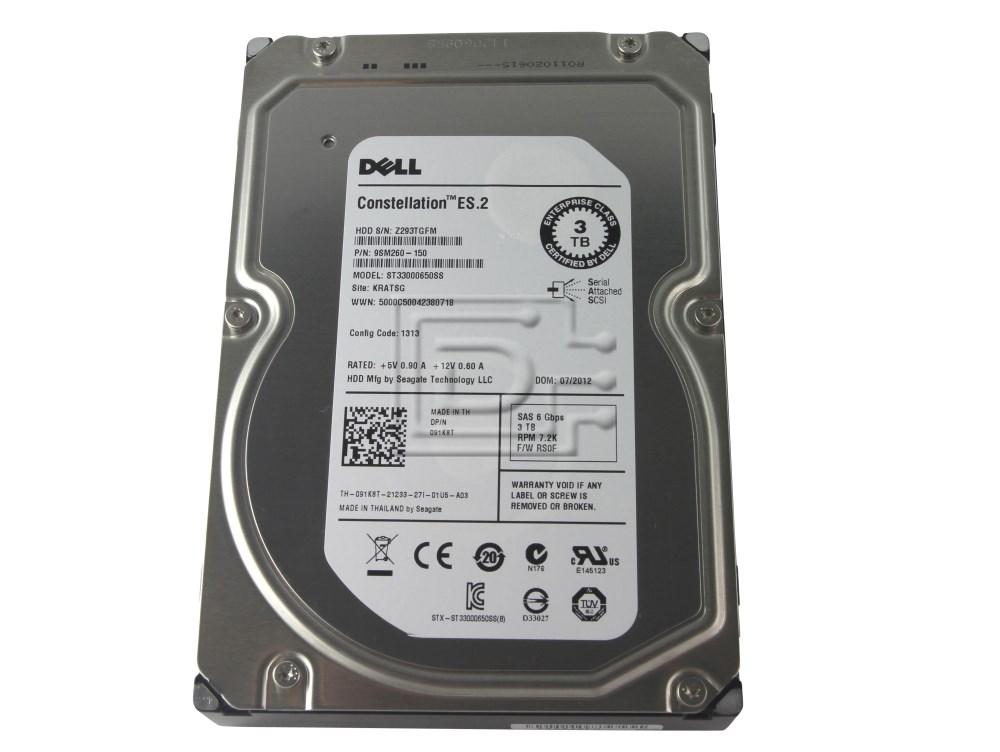 Seagate ST33000650SS 91K8T 091K8T SAS Hard Drive image 4