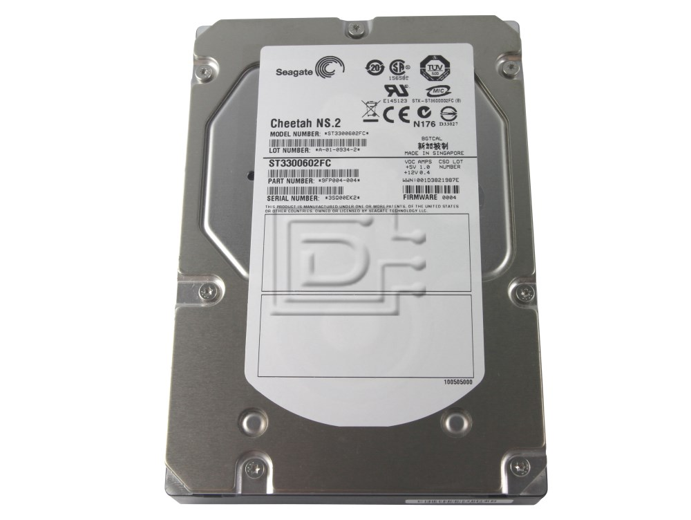 Seagate ST3300602FC Fibre Channel Hard Drives image 4