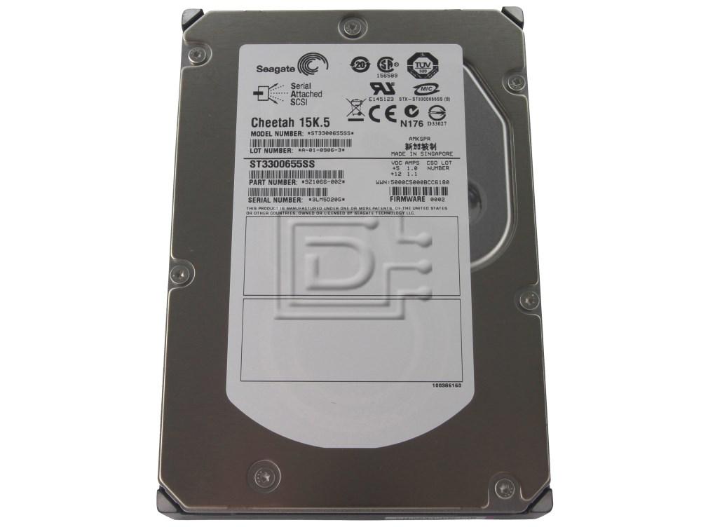 Seagate ST3300655SS 9Z1066 SAS Hard Drives image 1