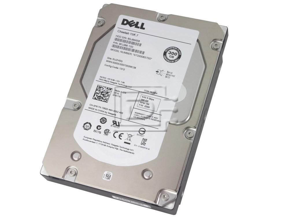 Seagate ST3300657SS CN-0F617N-72622-1AN-038J-A01 0F617N F617N 9FL066-150 FFMX3 0FFMX3 M525M 0M525M SAS Hard Drives image 1