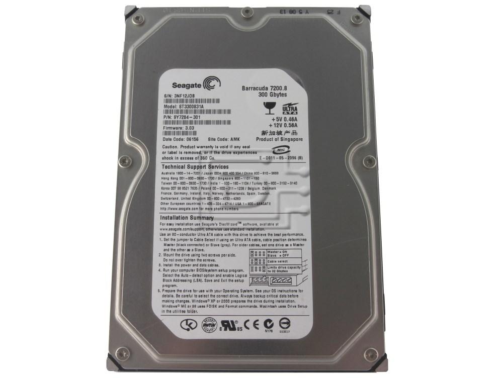 Seagate ST3300831AS SATA Hard Drive image 1