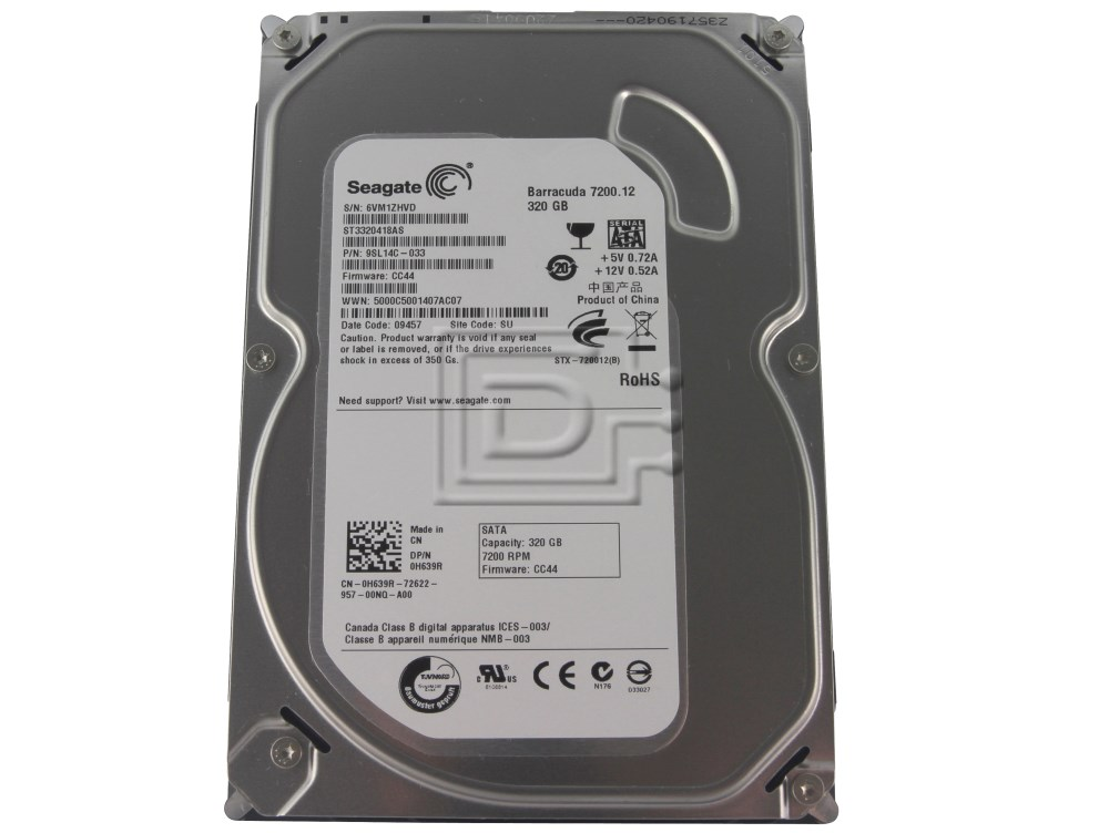 Seagate ST3320820AS 320GB Internal Hard Drive