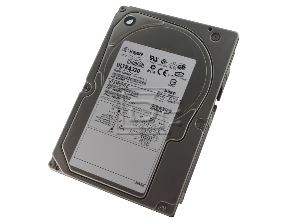 how to read scsi hard drive
