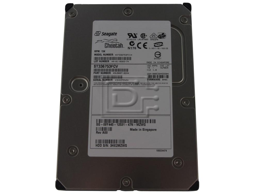 Seagate ST336753FCV 9U9007-024 Fibre Channel Hard Drive image 1