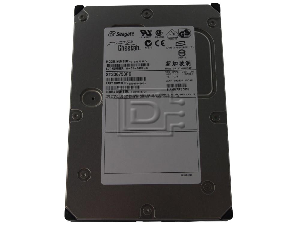 Seagate ST336753FC 9U9004-003 Fibre Channel Hard Drive image 1