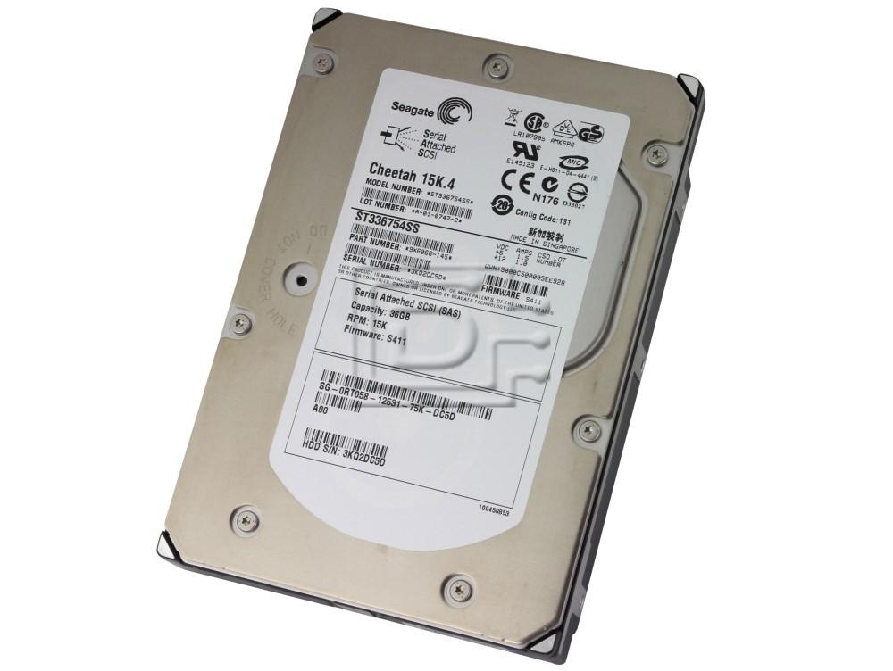 Seagate ST336754SS RT058 0RT058 9X6066-145 SAS Hard Drives image 2