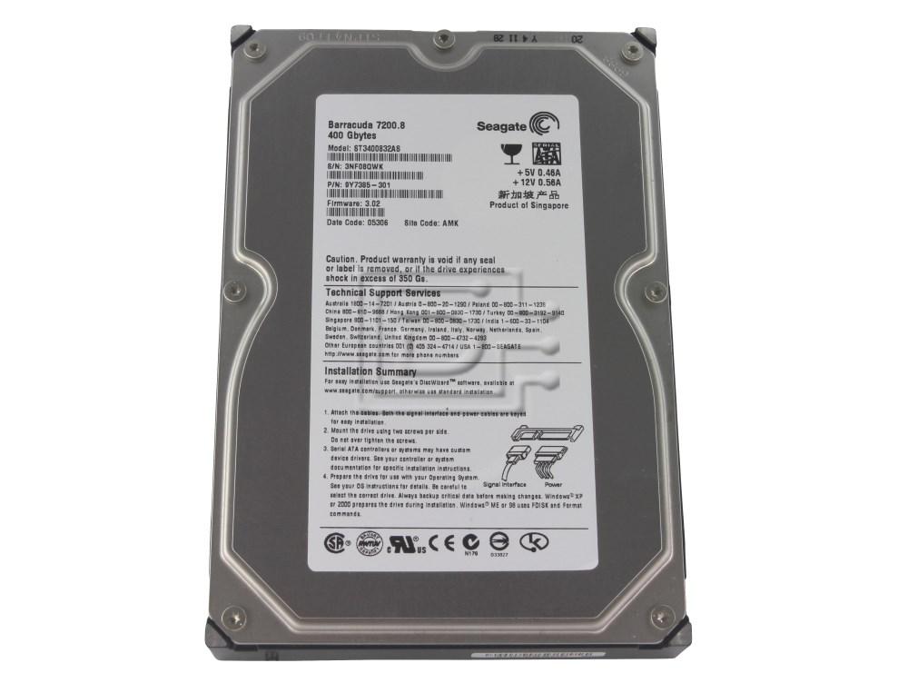 Seagate ST3400832AS SATA Hard Drive image 1