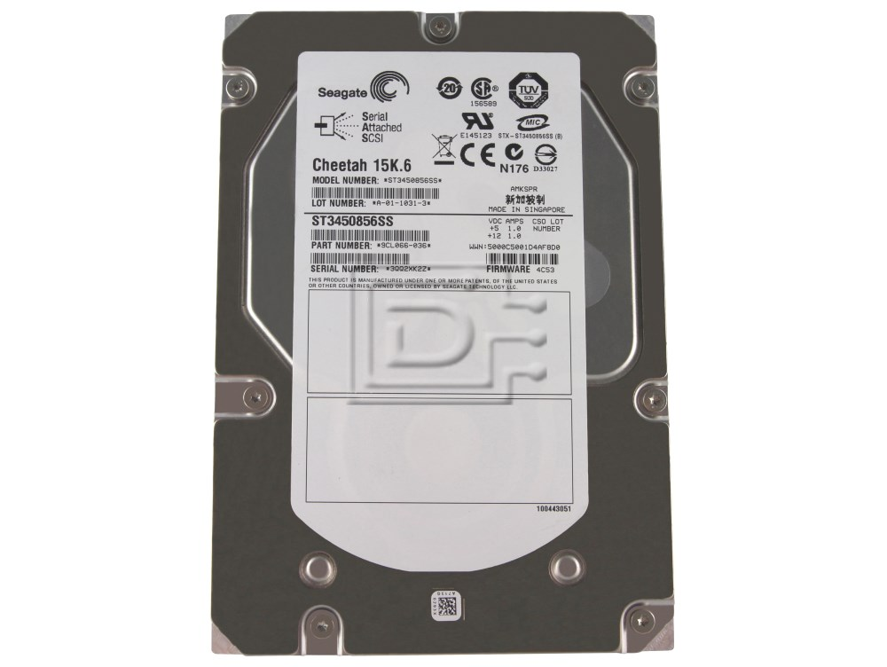 Seagate ST3450856SS 9CL066-036 SAS Hard Drives image 1