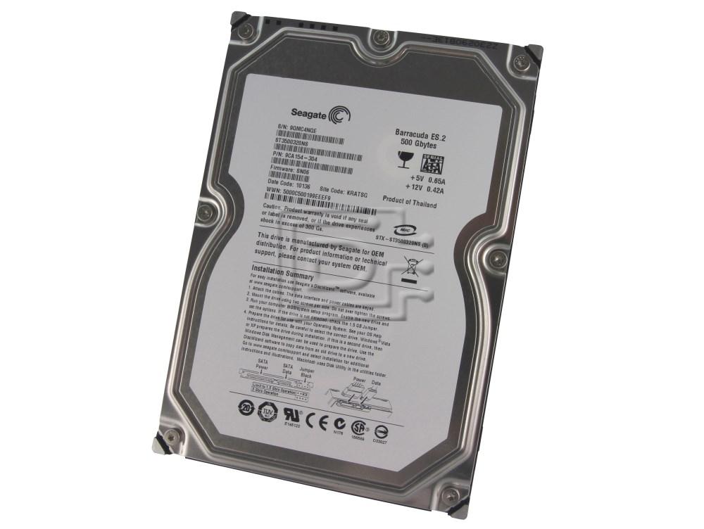 Seagate ST3500320NS 9CA154 SATA Hard Drive image 1