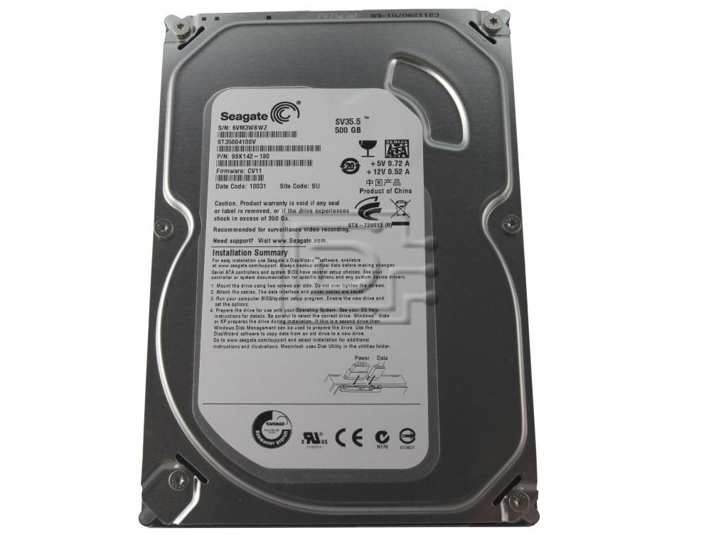 Seagate ST3500410SV SATA Hard Drive image 2