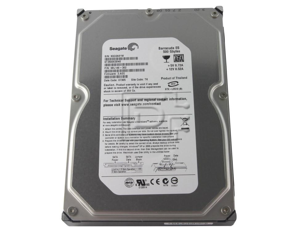 Seagate ST3500630NS SATA Hard Drive image 4