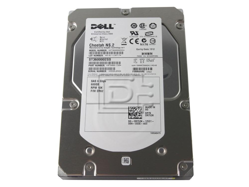Seagate ST3600002SS 0K054N K054N R752K 0R752K SAS Hard Drives image 4