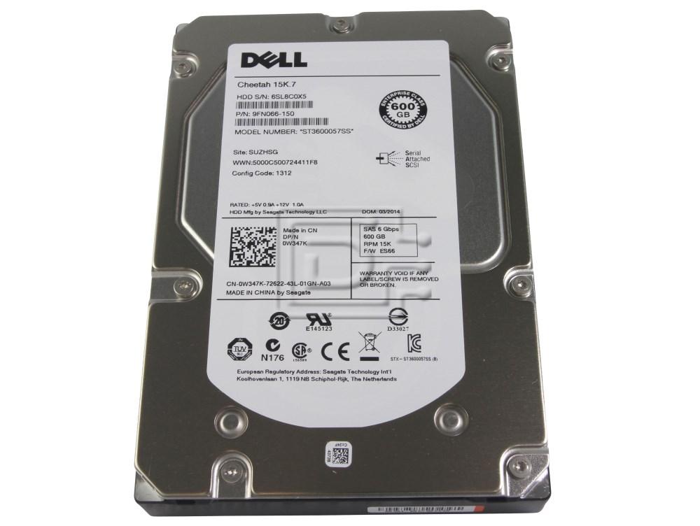 Seagate ST3600057SS 0J762N J762N 0P329R P329R P439R 0P439R 0W347K W347K 9FN066-150 SAS Hard Drives image 1