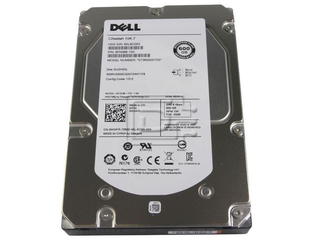 Seagate ST3600057SS 0J762N J762N 0W347K W347K 9FN066-150 SAS Hard Drives image 1