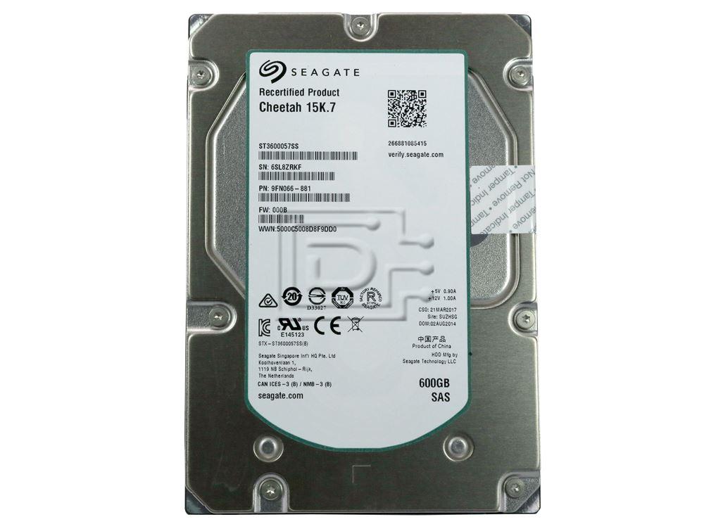 Seagate ST3600057SS 9FN066 SAS Hard Drives image 2
