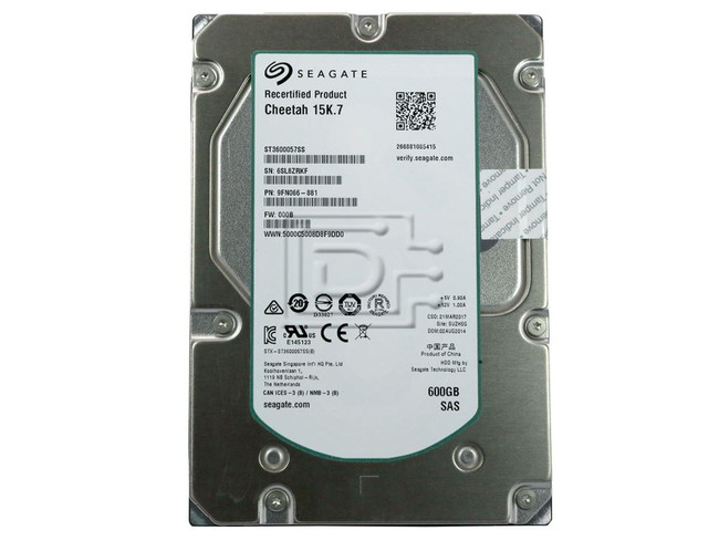 Seagate ST3600057SS 9FN066 SAS Hard Drives image 2