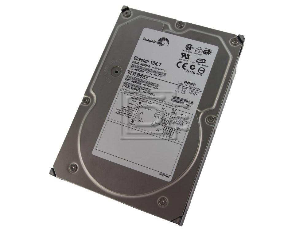 Seagate ST373207LC 9X3006-105 SCSI Hard Drive image 1