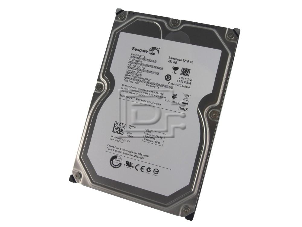 Seagate ST3750528AS 0H648R H648R SATA Hard Drive image 1