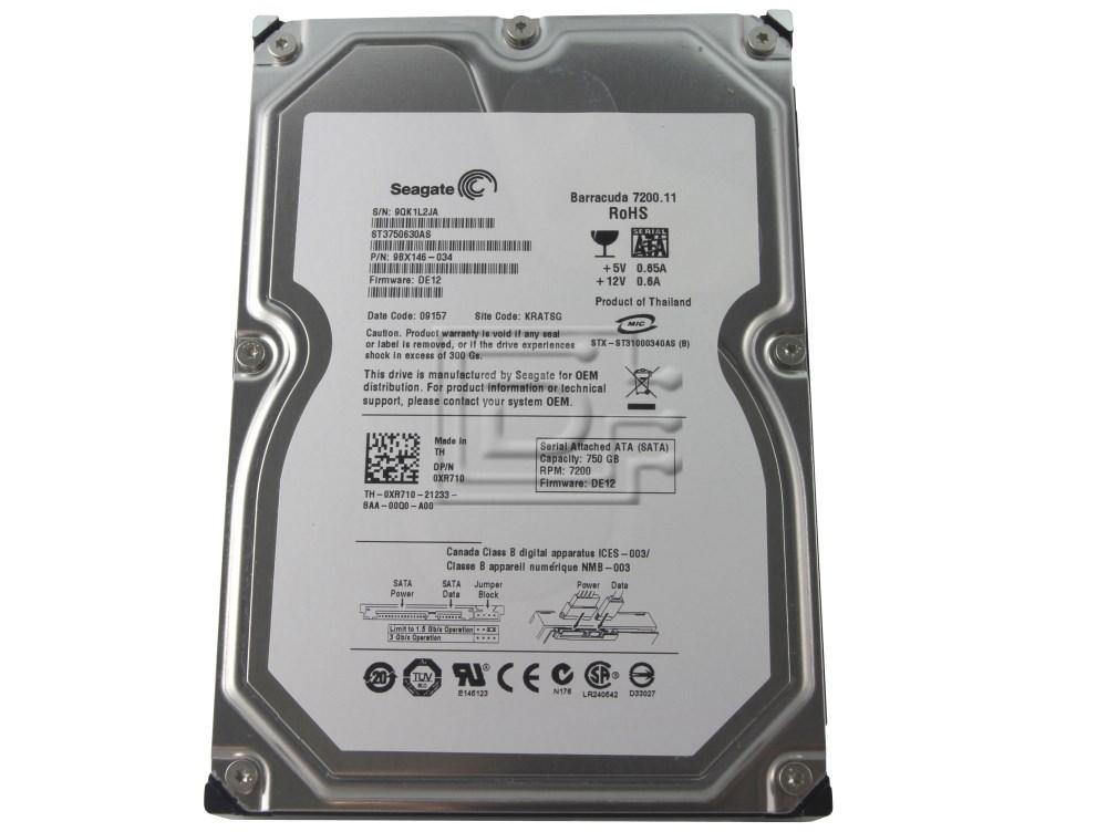 Seagate ST3750630AS XR710 0XR710 9BX146-034 SATA Hard Drive image 2