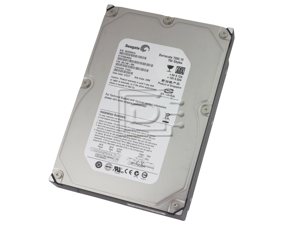 Seagate ST3750640AS SATA Hard Drives image 1