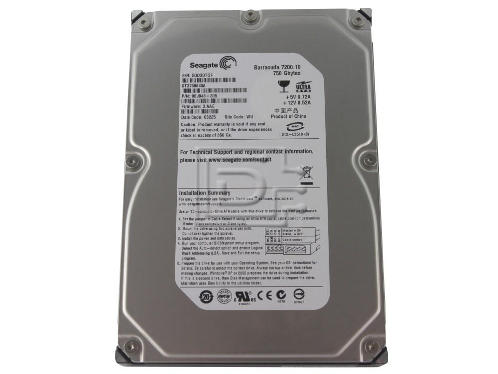 Seagate ST3750640A IDE ATA/100 Hard Drive image 1