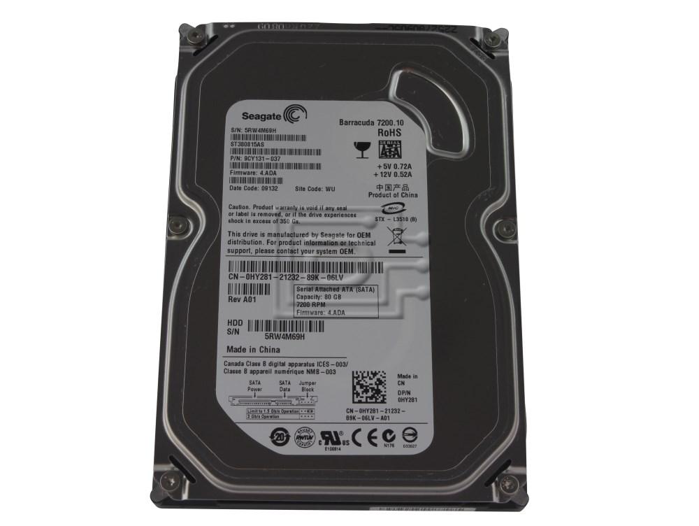 Seagate ST380815AS SATA Hard Drive image 1