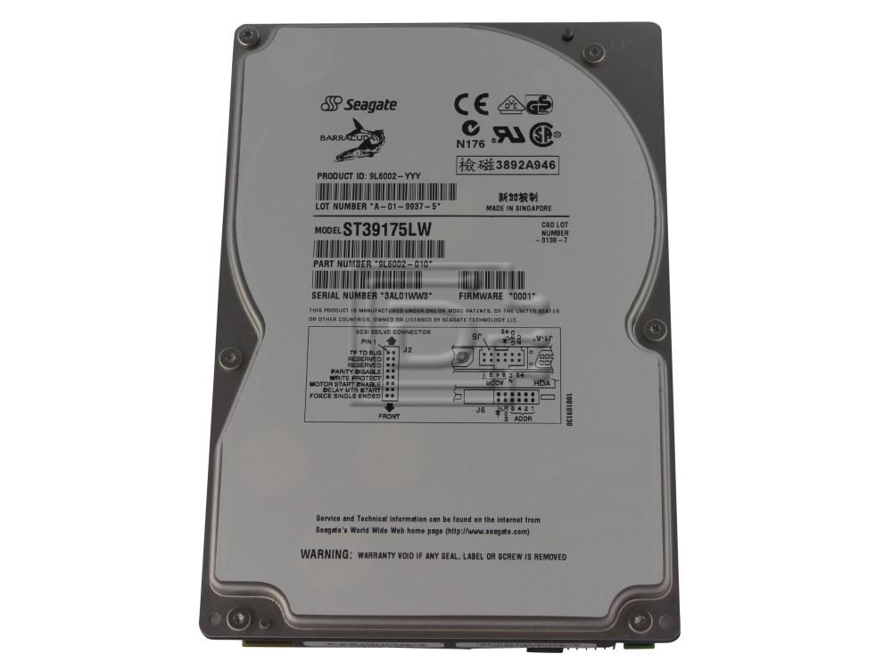 Seagate ST39175LW 9L6002-010 SCSI Hard Drive image 1