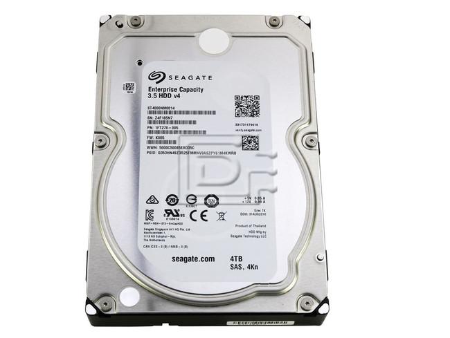 Seagate ST4000NM0014 SAS Hard Drive image