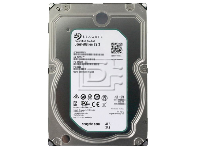 Seagate ST4000NM0023 SAS Hard Drives image 2