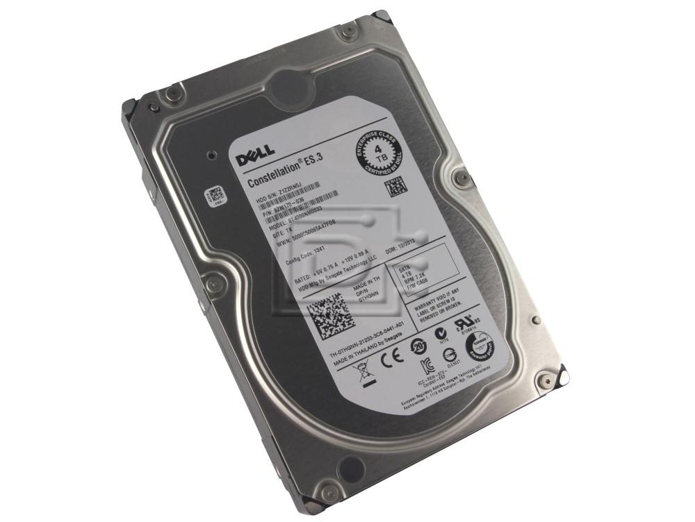 Seagate ST4000NM0033 0THGNN THGNN 9ZM170-036 9PR63 09PR63 9ZM170-136 SATA 4TB Hard Drives image 1
