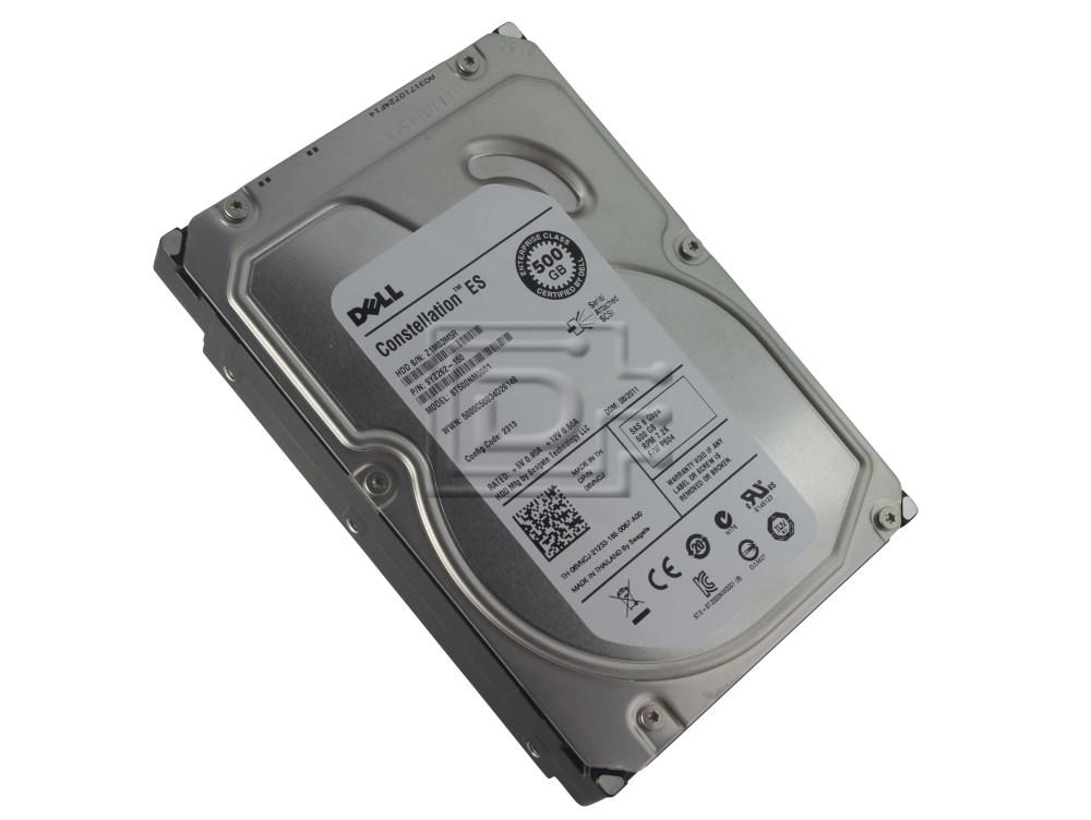 Seagate ST500NM0001 6VNCJ 06VNCJ SAS Hard Drive image 1