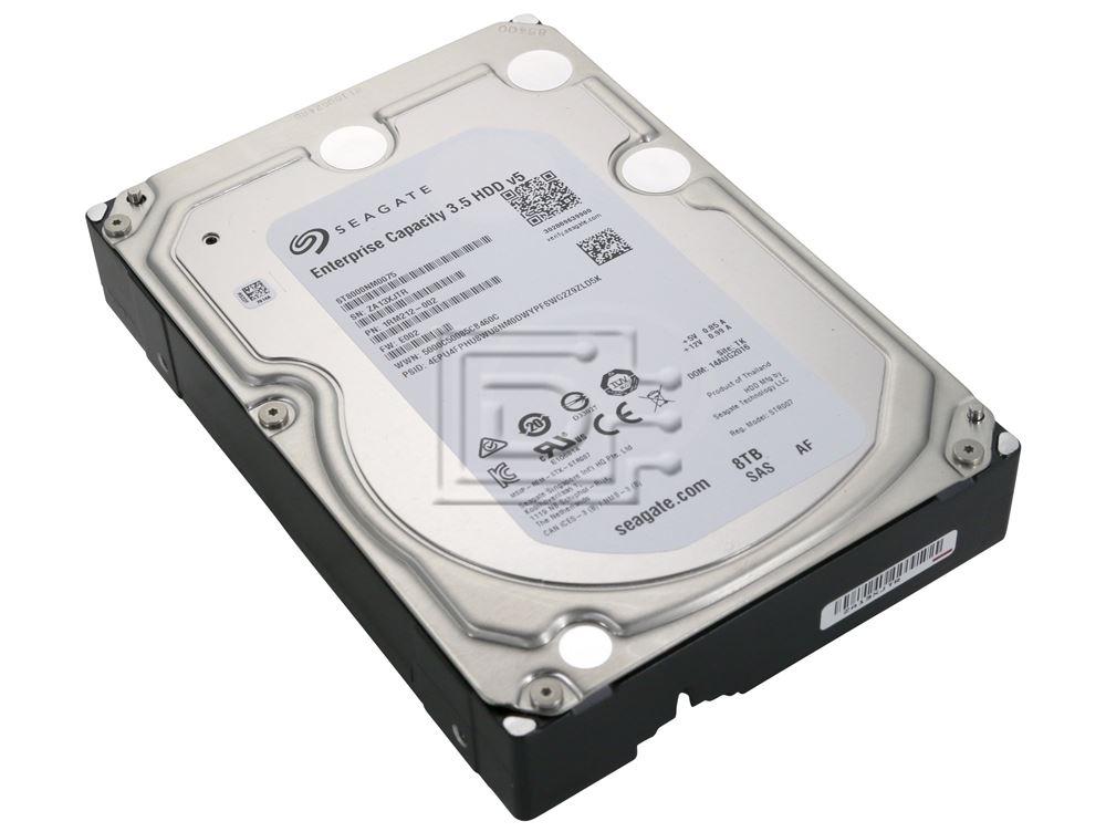 Seagate ST8000NM0075 3.5/'/'  8TB 7200 RPM 512e SAS 12Gb//s 256MB HDD