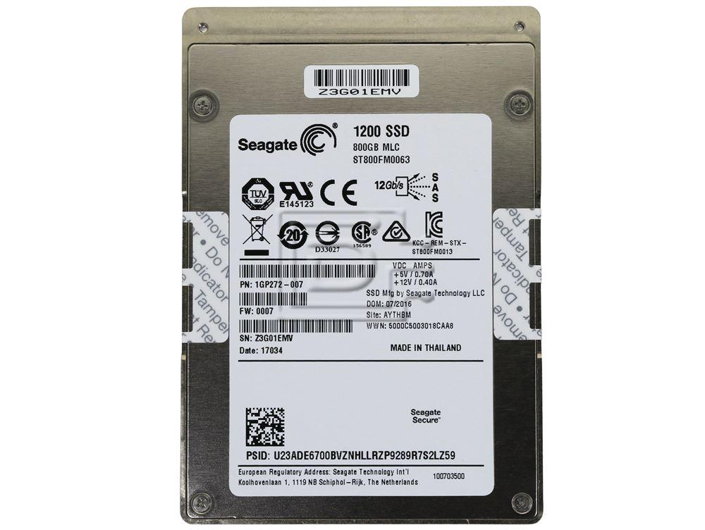 Seagate ST800FM0063 1GP272-007 ST800FM0063 SAS SDD Hard Drive image 2
